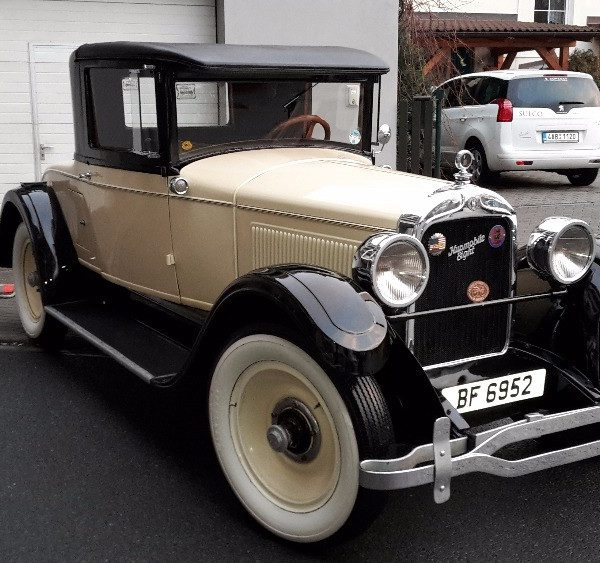 Hupmobile coupe 1927