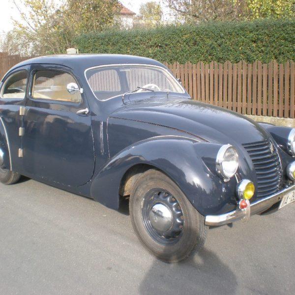 Škoda Rapid 1500 OHV z roku 1940